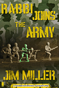 Book Cover - Rabbi Joins The Army